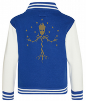 GROOT STARS VARSITY - INSPIRED BY TREE OF LIFE GUARDIANS OF THE GALAXY